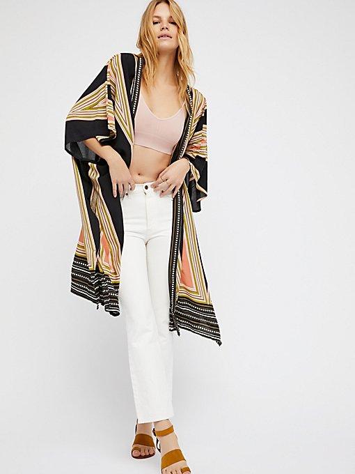 Product Image: Boogie Nights Geo Printed Kimono