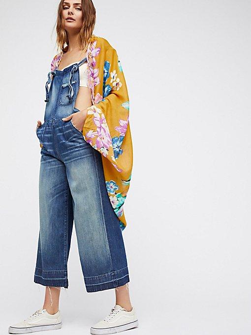 Product Image: Good Vibrations Printed Cocoon Kimono