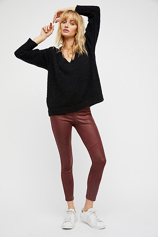 Product Image: Vegan Suede Legging