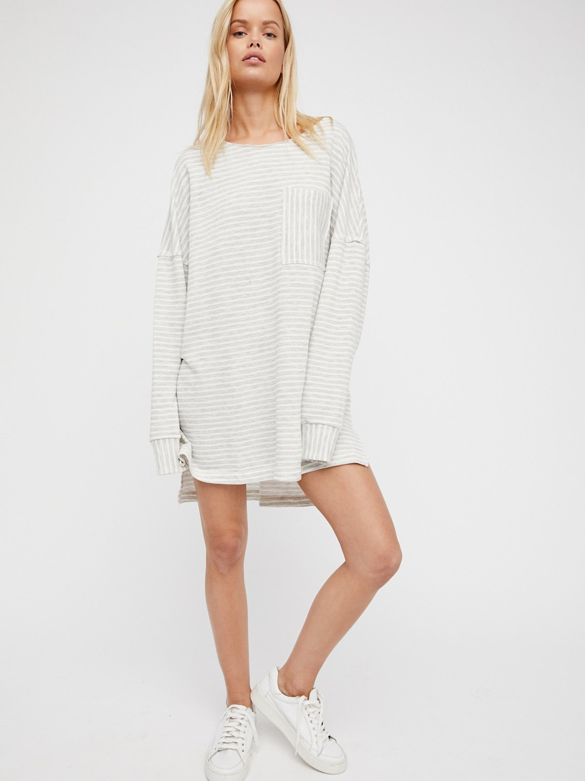 Cloudy Stripe Pullover