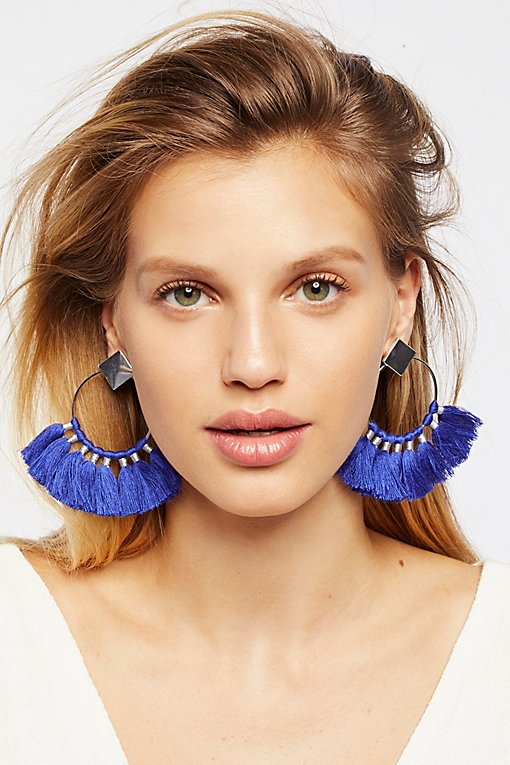 Product Image: Full Bloom Fan Earring