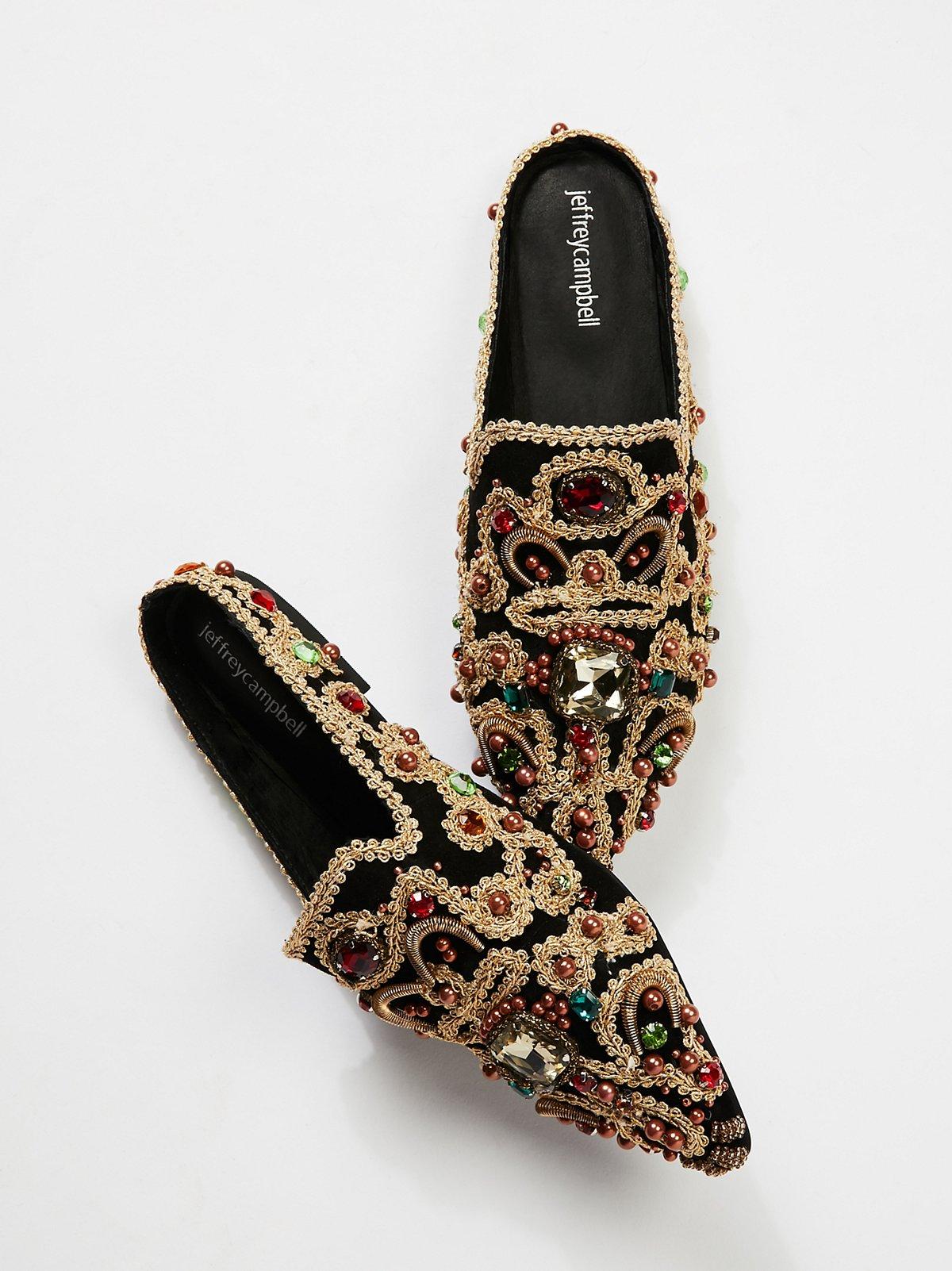 Crown Jewels穆勒鞋
