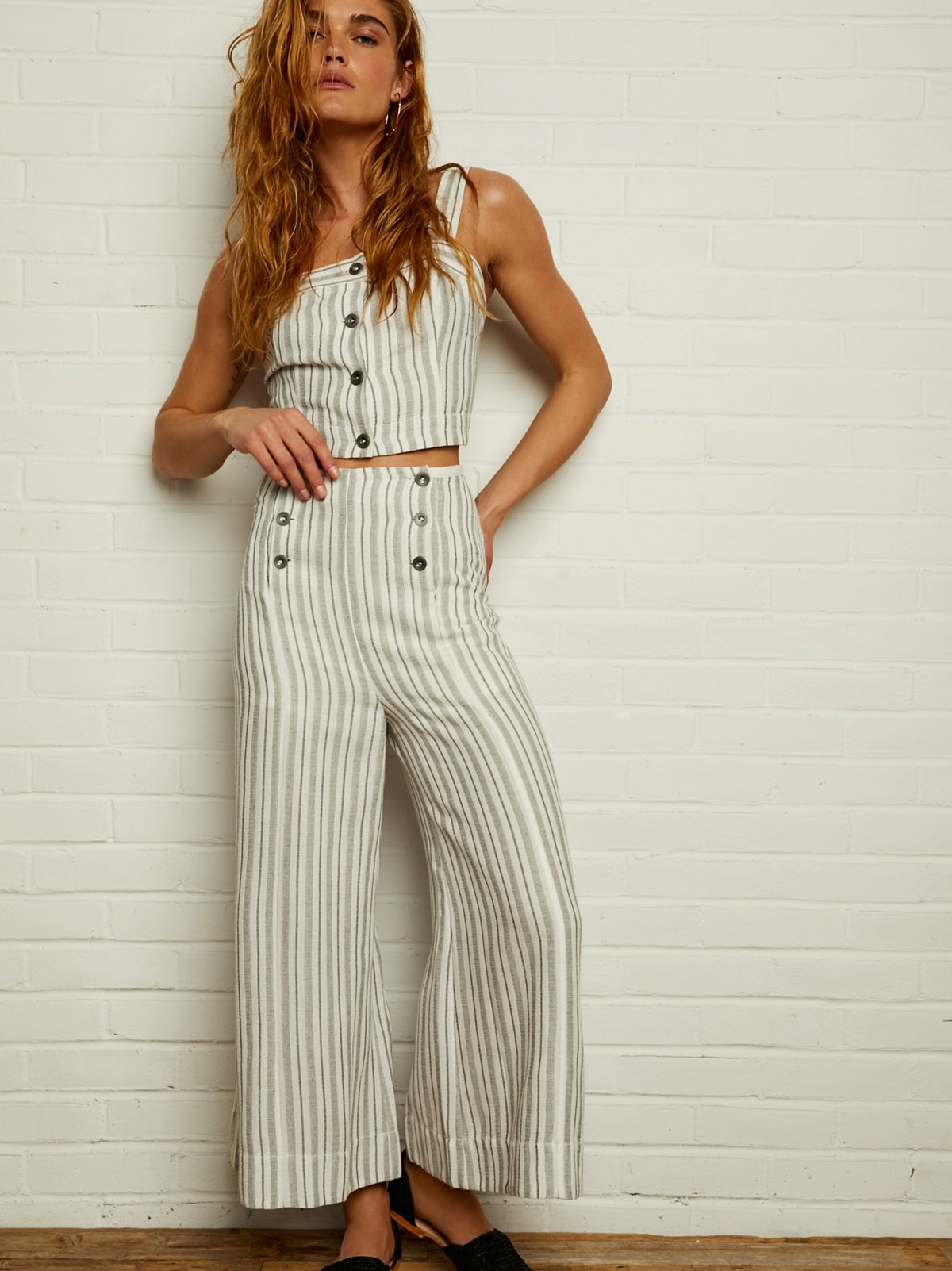 Whitney Striped Trouser Co-Ord