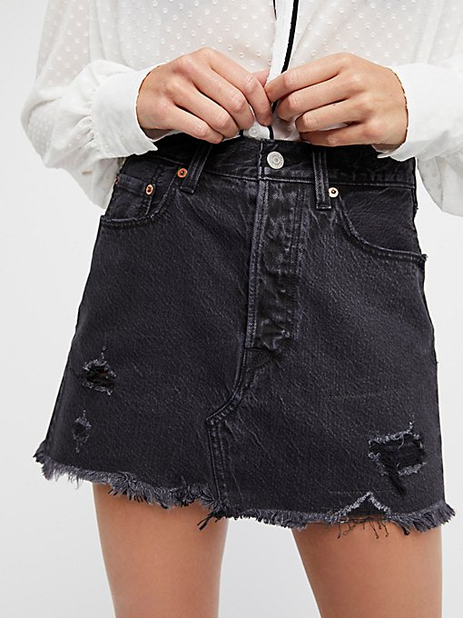 Product Image: Deconstructed Denim Skirt