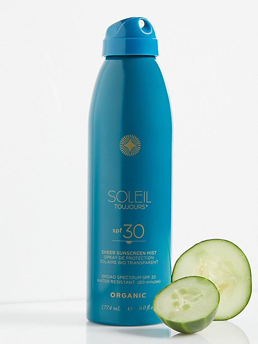 Product Image: Organic Sheer Sunscreen Mist SPF 50