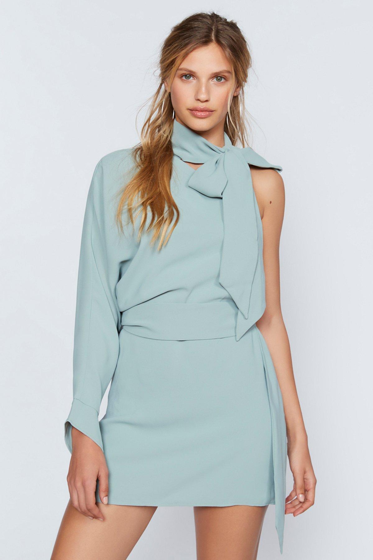 Everlasting One-Shoulder Dress