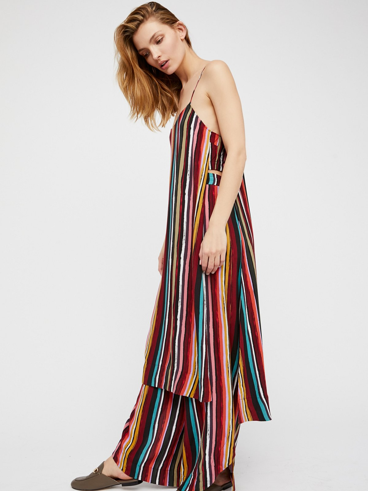 Ruby Striped Co-Ord