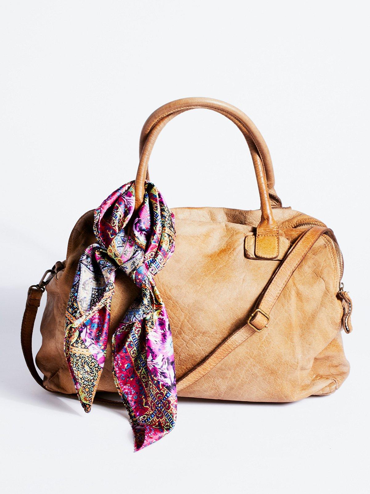 Basilio做旧手提包