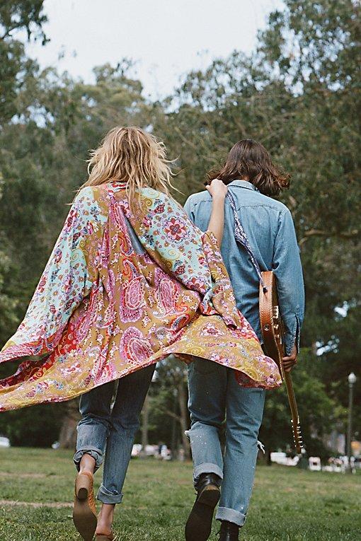 Product Image: Little Wing Mix Print Kimono