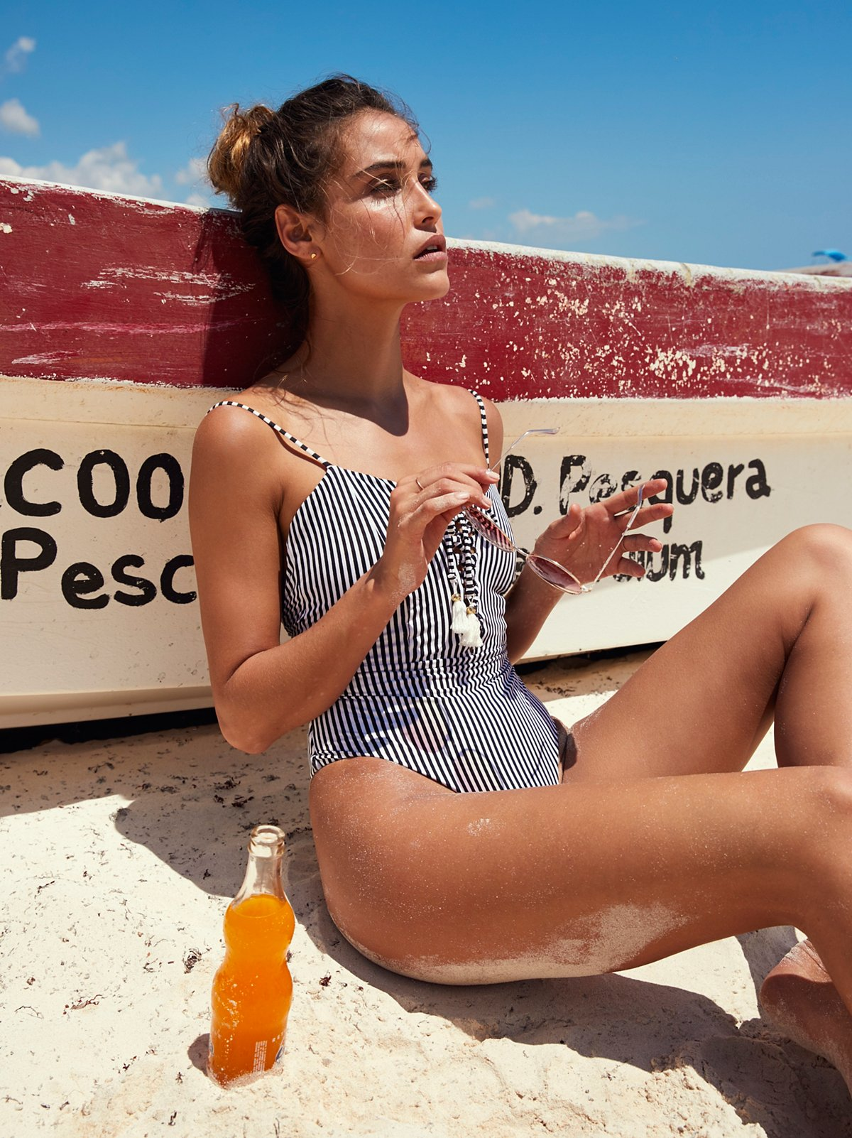Carmen One Piece Swimsuit