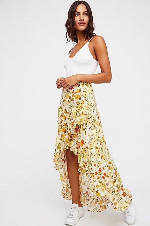 Product Image: Sayulita Frill Split Skirt