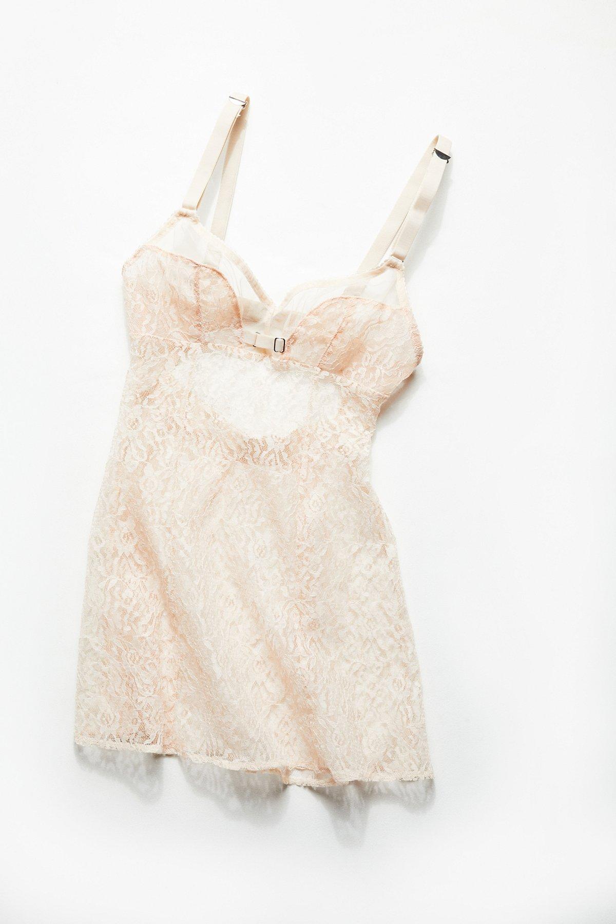 Vintage 1980s Lace Bra Top