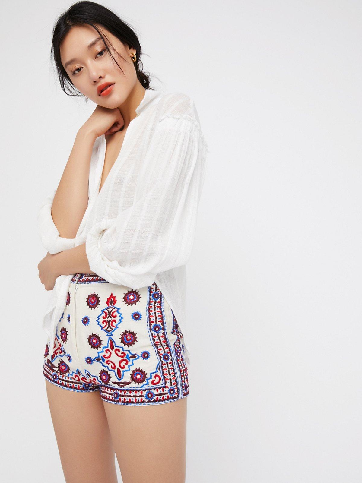 Kozmic Daze装饰短裤