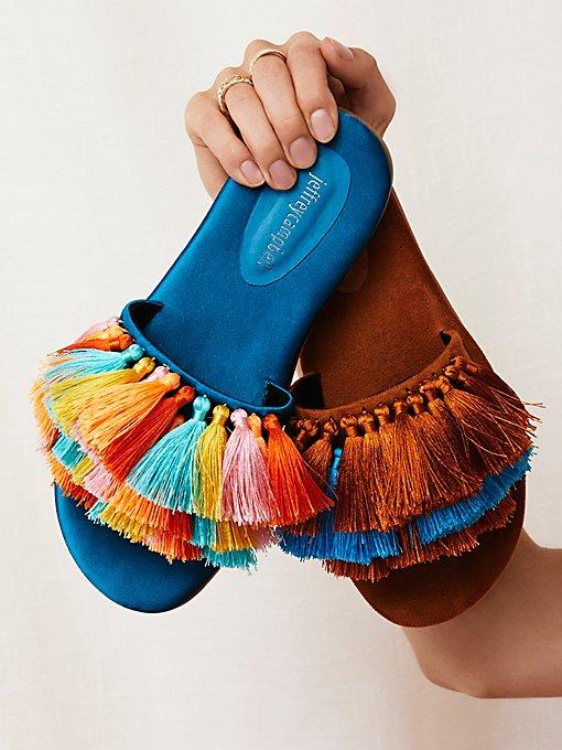 Product Image: Watercolor Tassel Sandal