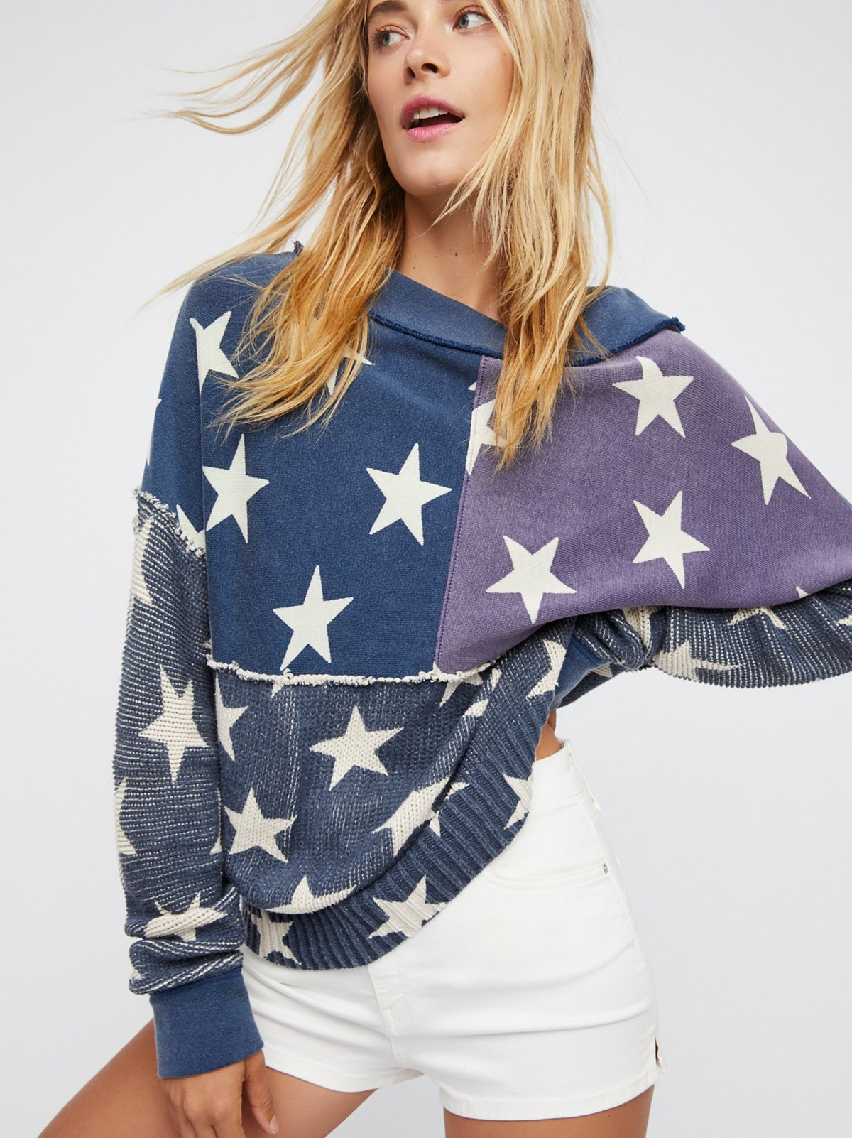 Stars and Stripes Pullover