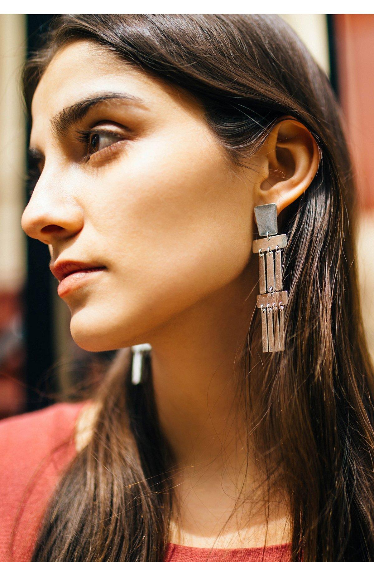 Ibiza Plate Earrings