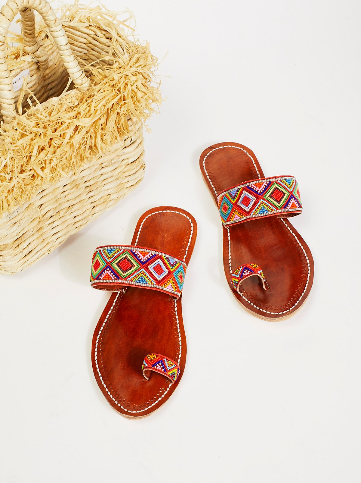Santorini Beaded Sandal