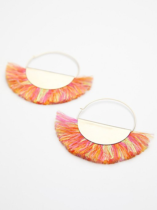 Product Image: Super Fan Flare Hoops