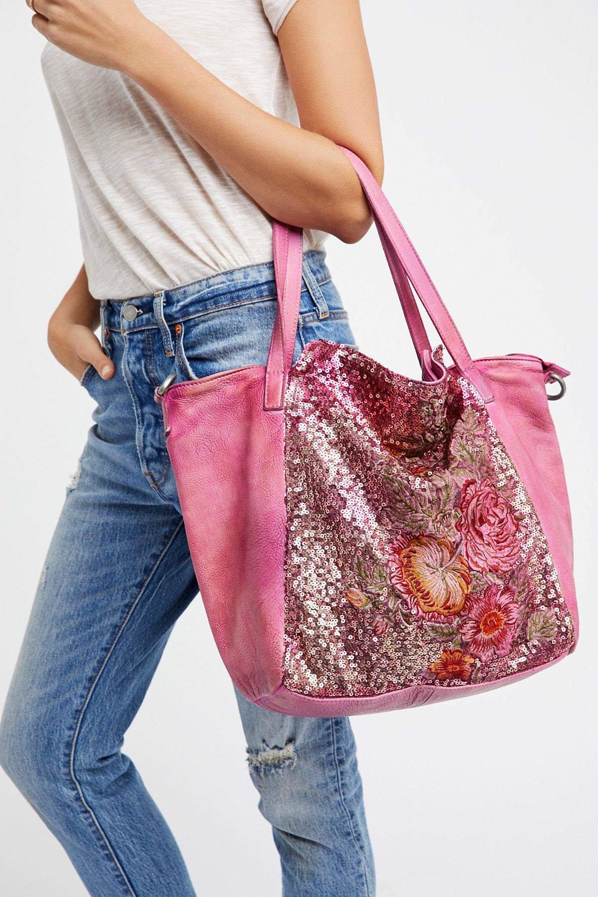 Gardenia水洗革手提包