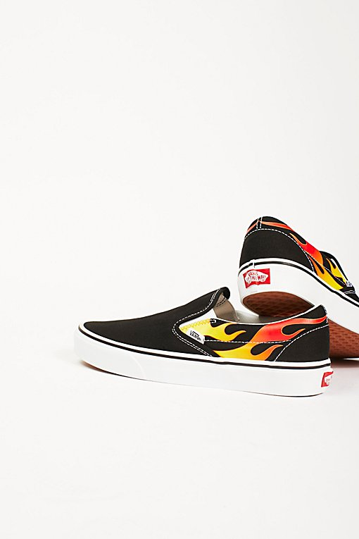 Product Image: Flame Classic Slip-On Sneakers