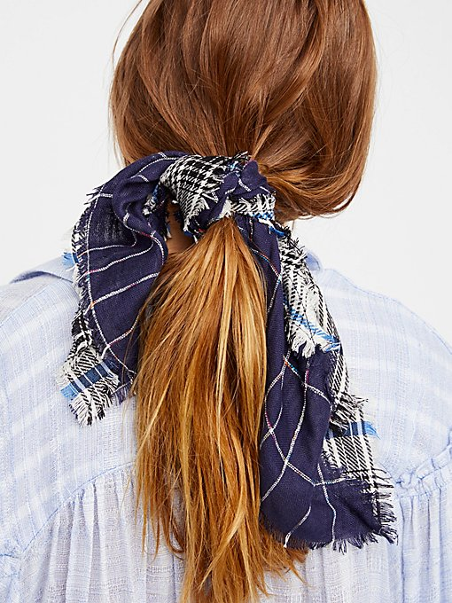 Product Image: Patchwork Plaid Bandana
