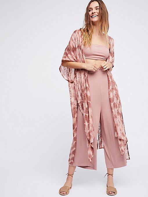 Product Image: Out To Sea Maxi Kimono