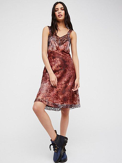 Product Image: FP Vintage Revival Over Dyed Slip Dress