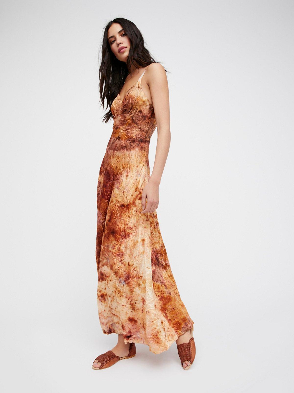 FP Vintage Revival Over Dyed Maxi Slip Dress