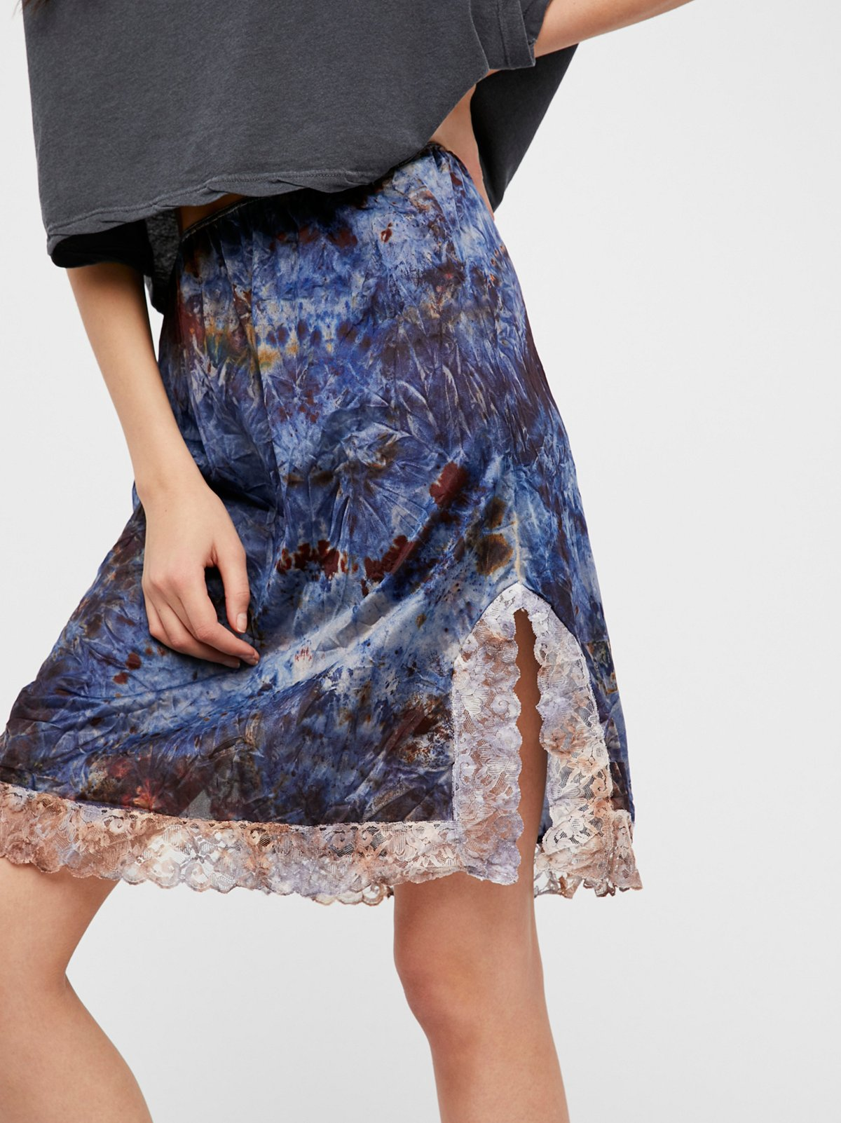 FP Vintage Revival Over Dyed Petticoat