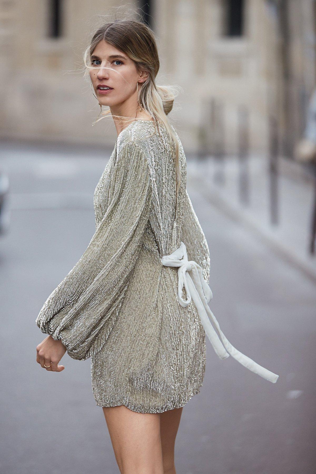 Moonglow Sequin Mini Dress