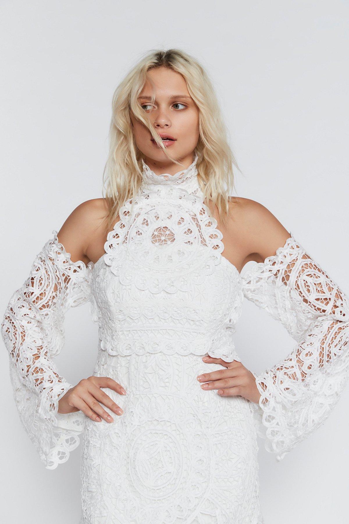 Olympia Lace Bodycon Dress