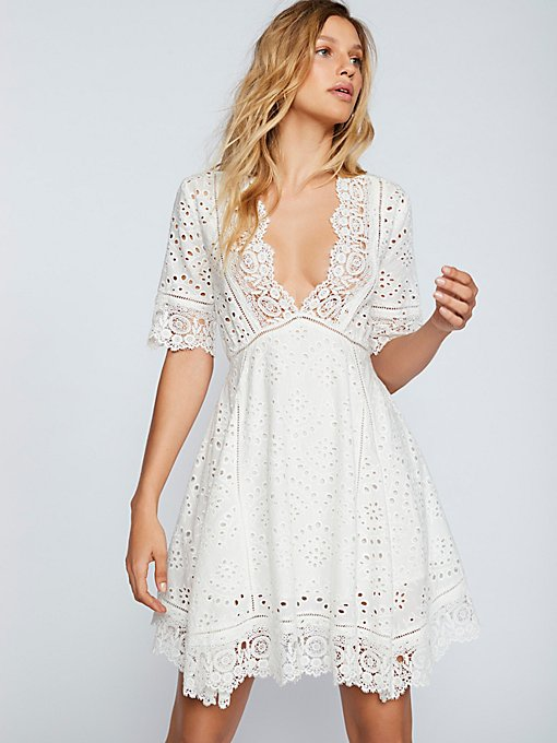 Product Image: Eyelet Flare Dress
