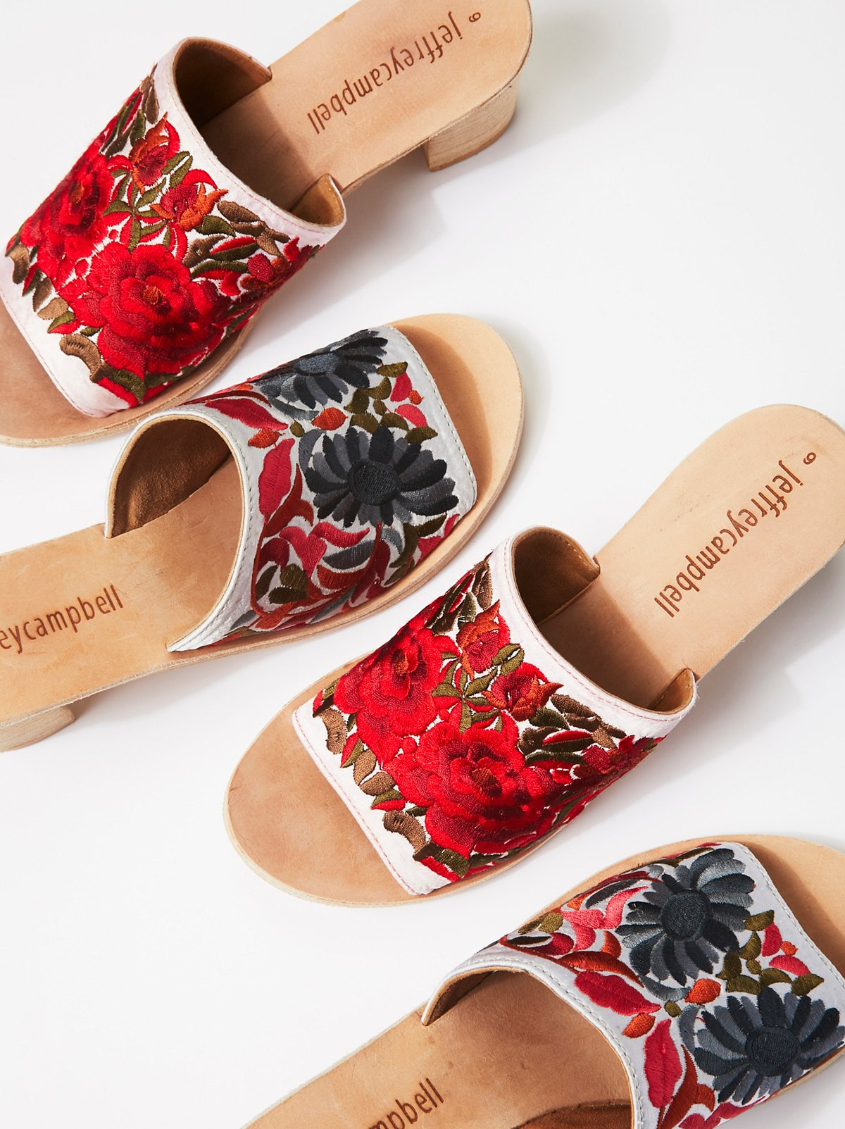 Riviera Embroidered Mule