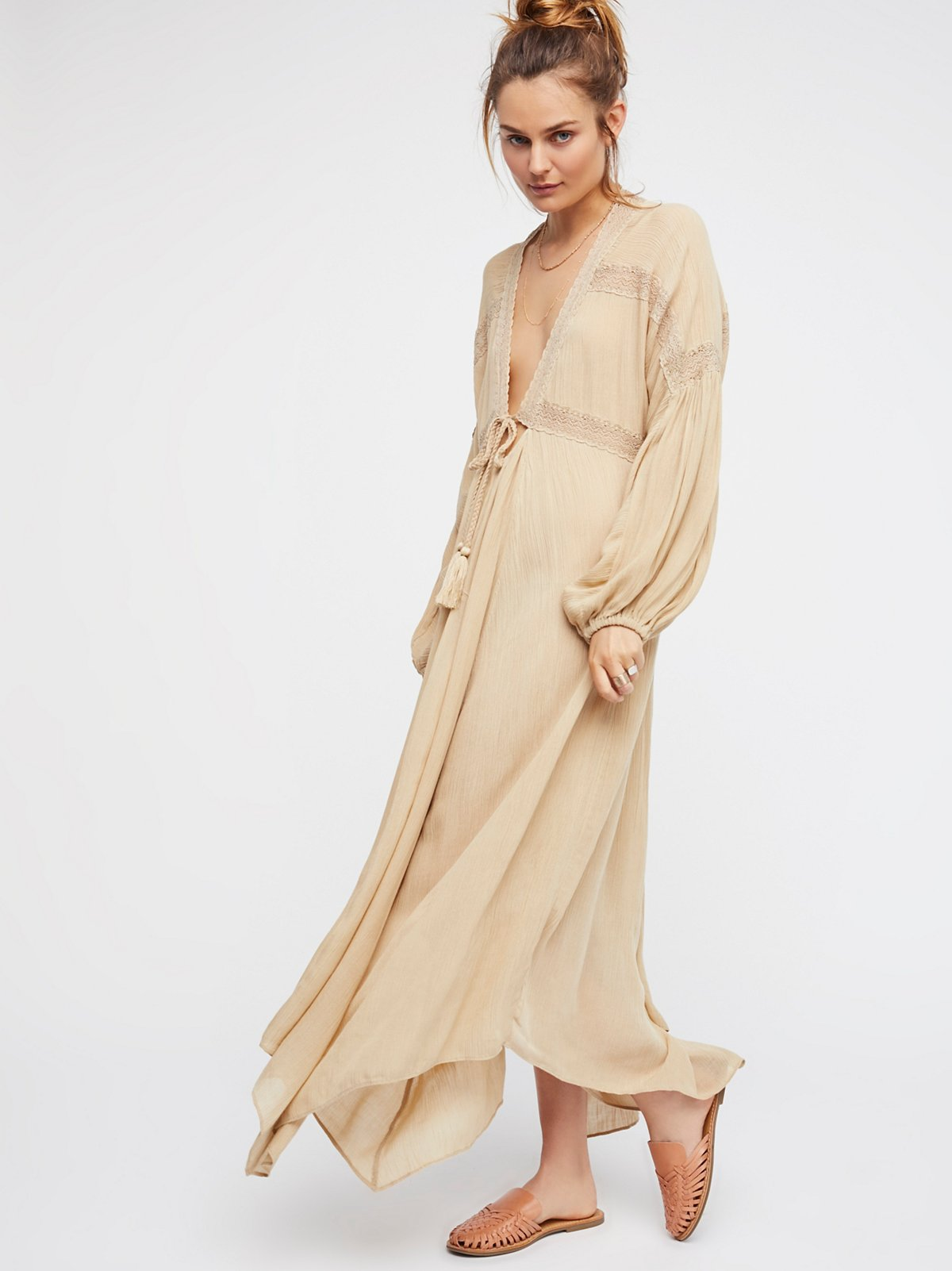 3648f47cfe Fp Beach Copper Fantasy Maxi Dress At Free People Clothing Boutique | 2019  trends | xoosha