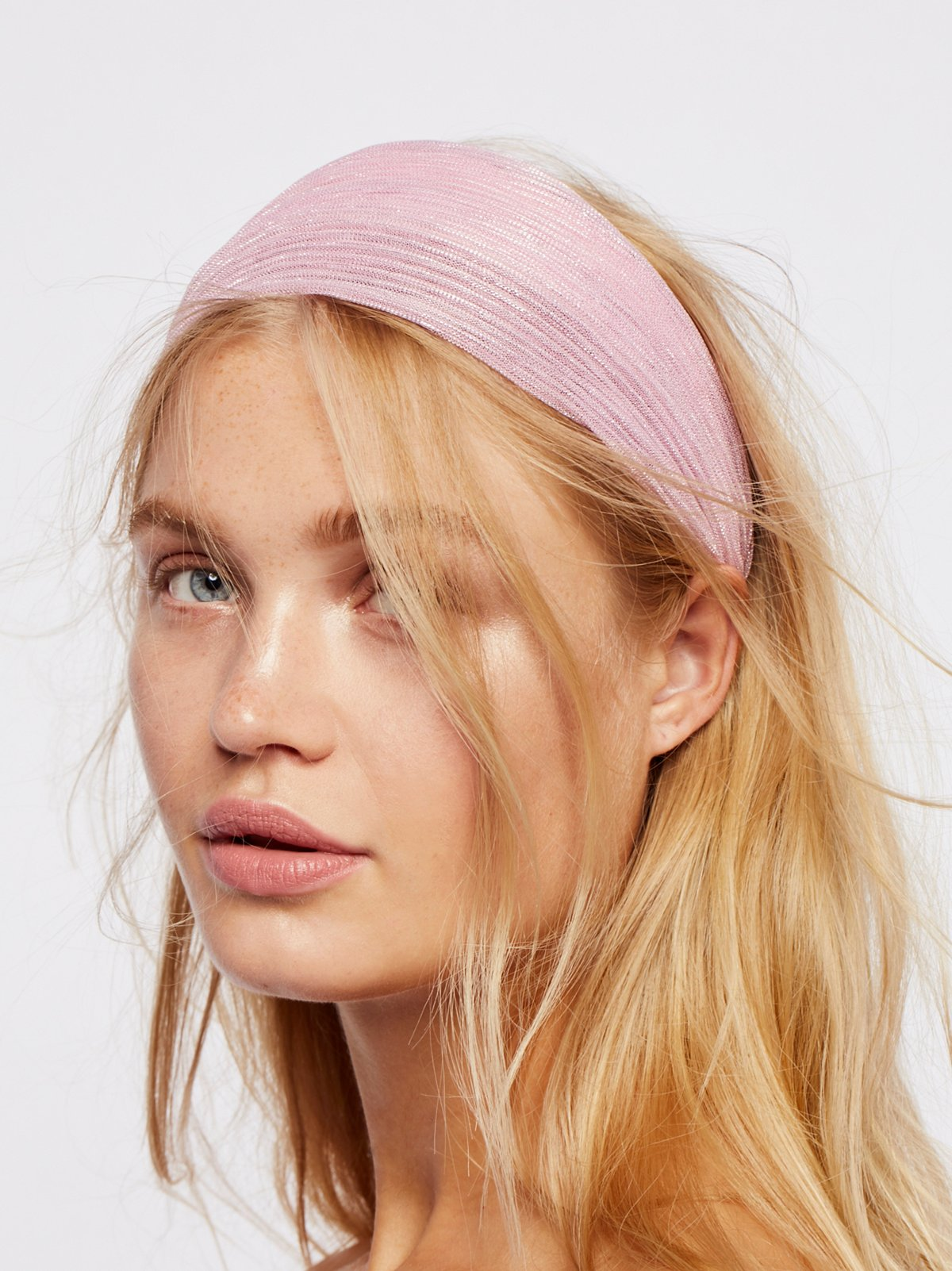 Shimmer Gauze Headband