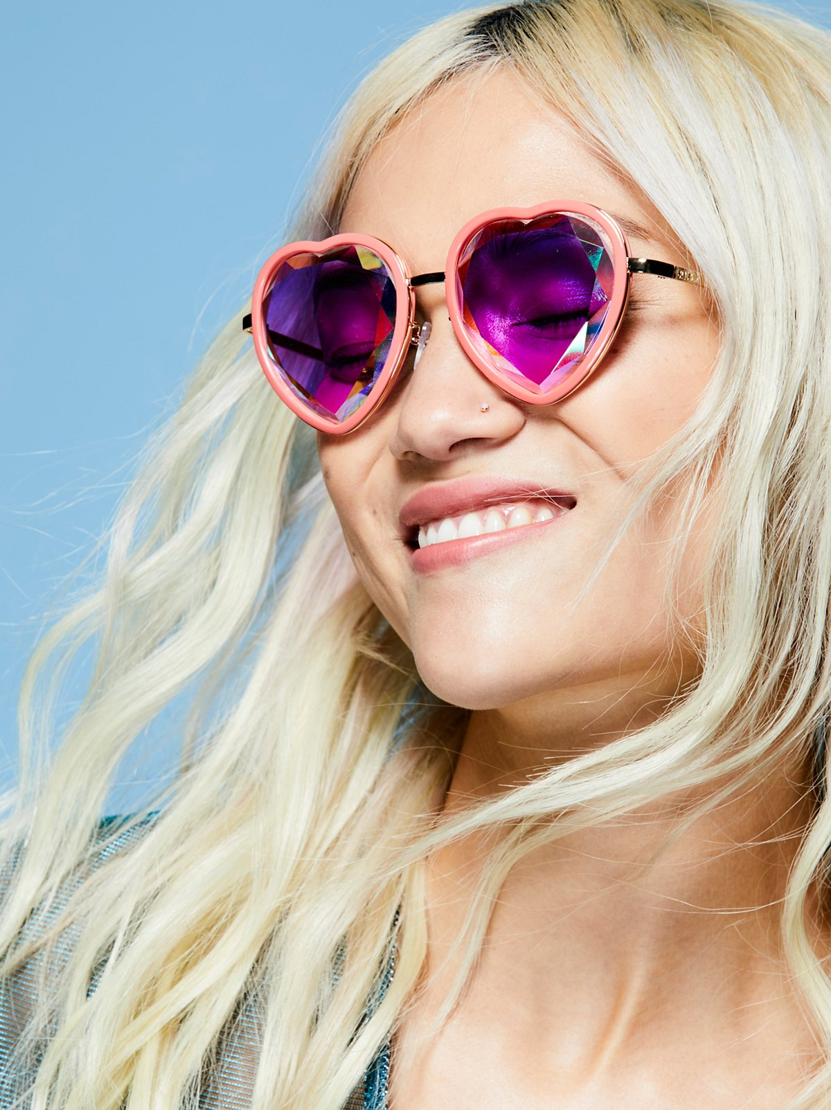 Sweet Heart Kaleidoscope Glasses
