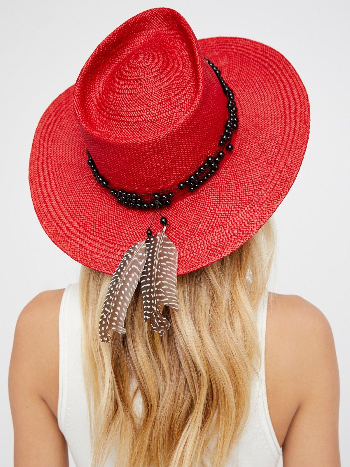 Dean Straw Panama Hat