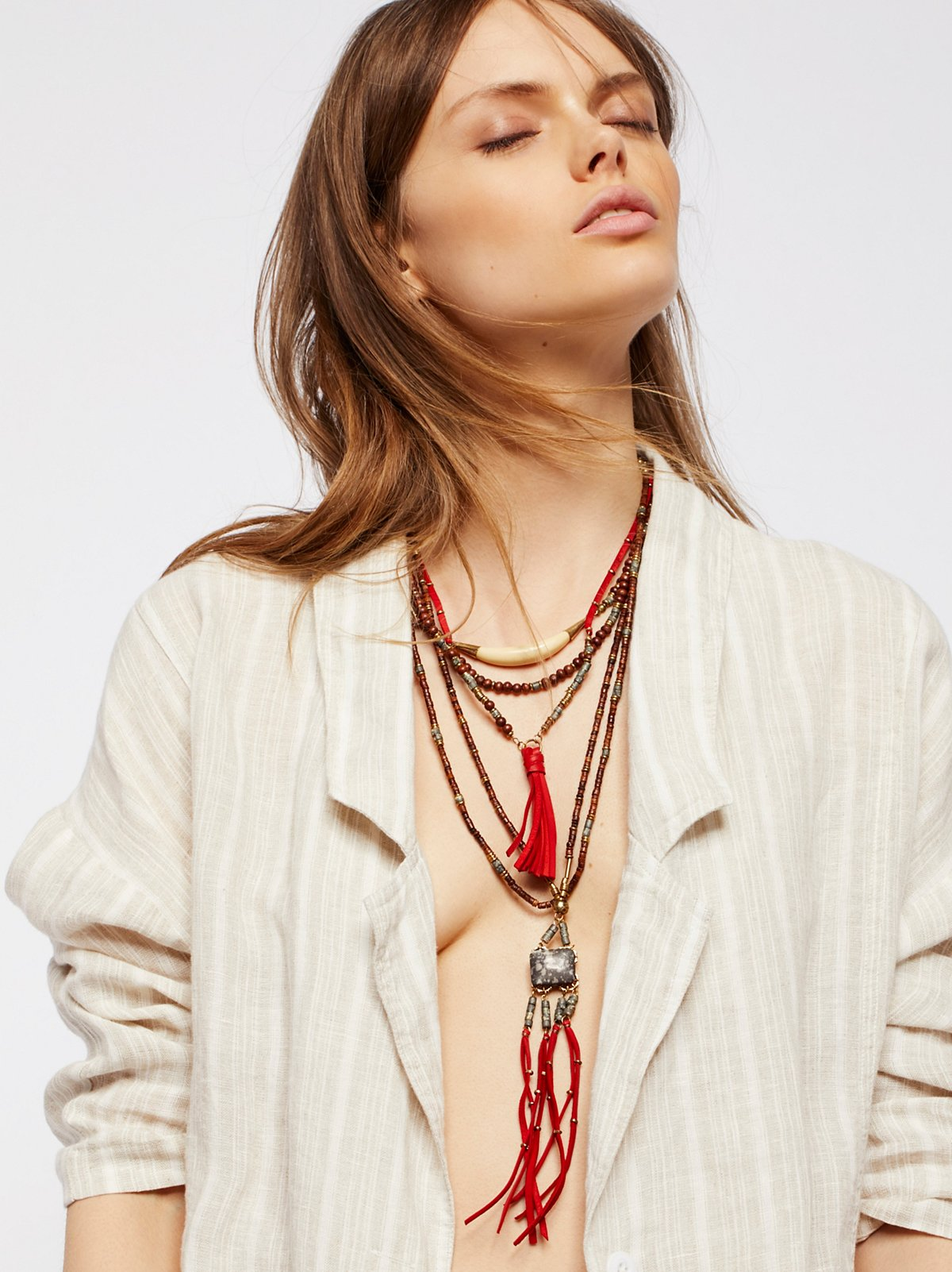 Sun Ceremony Layered Necklace