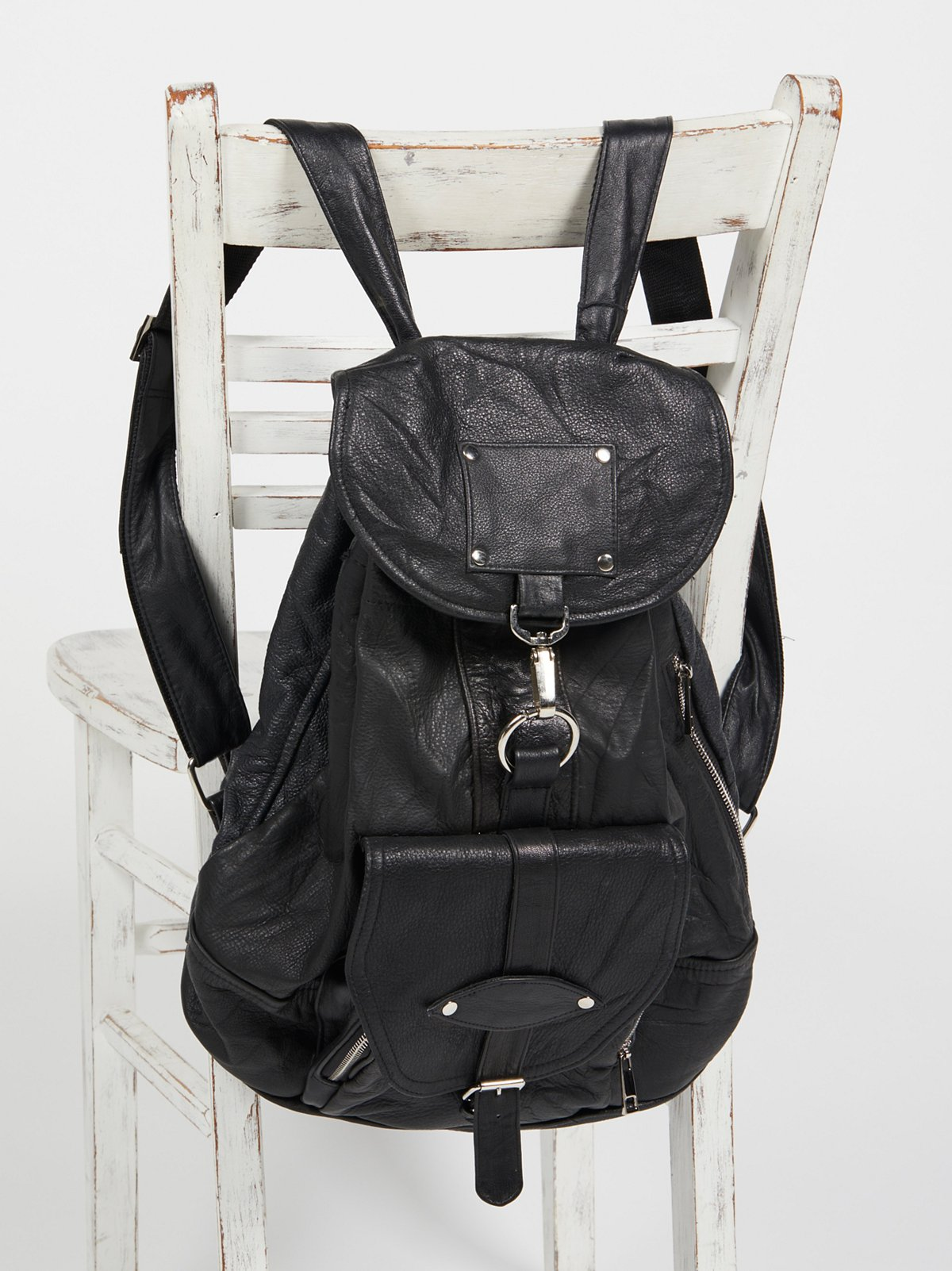 Axl Leather Backpack