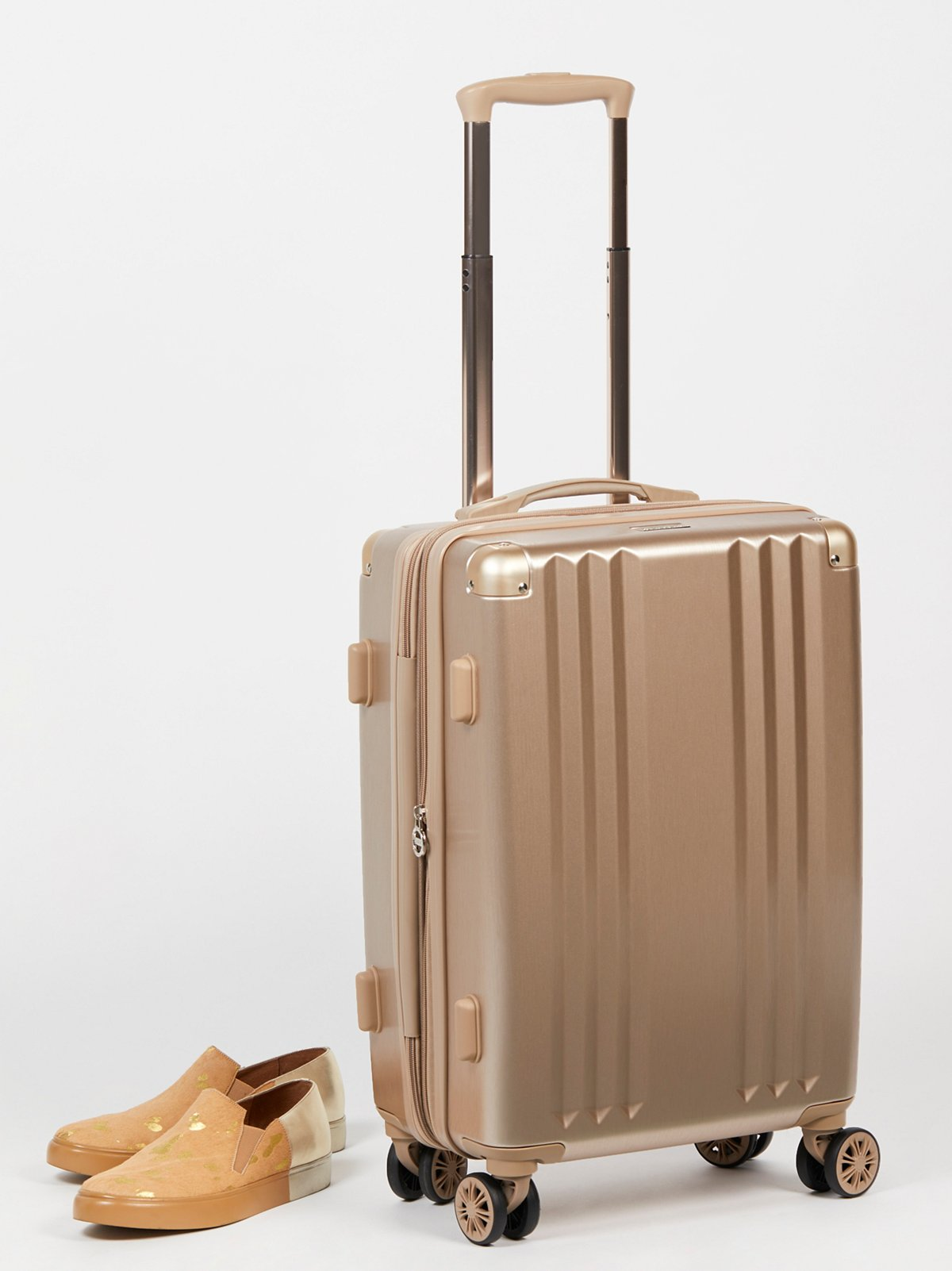 Ambeur Brushed Metallic Carry-On