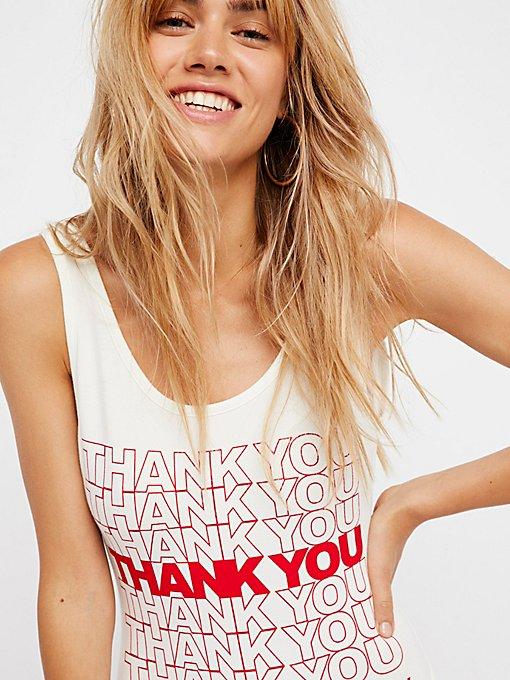 Product Image: Thank You Bodysuit