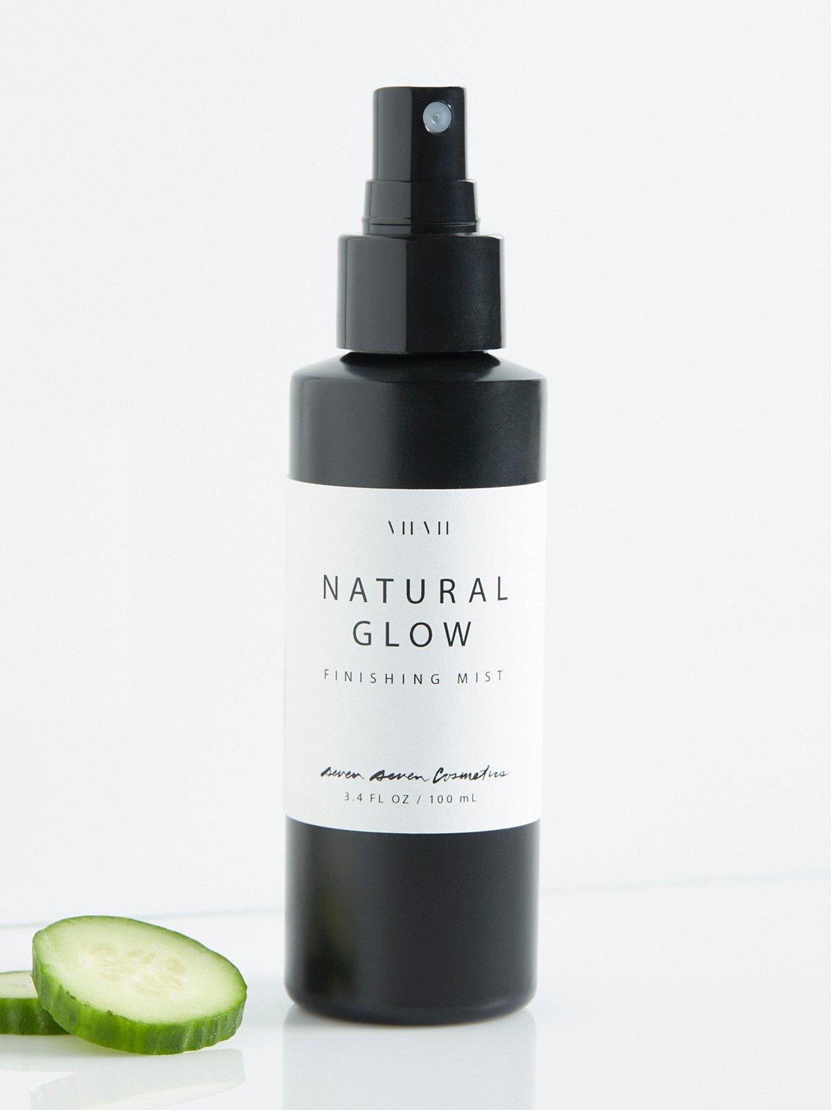 自然光泽化妆固定喷雾