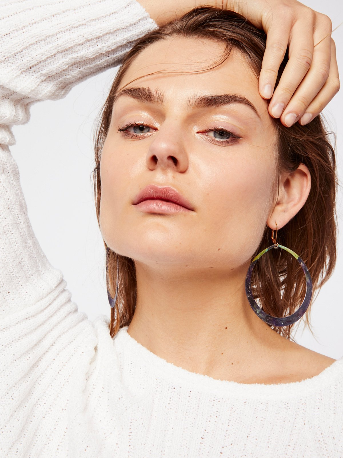 Lila Meli绿绣耳环