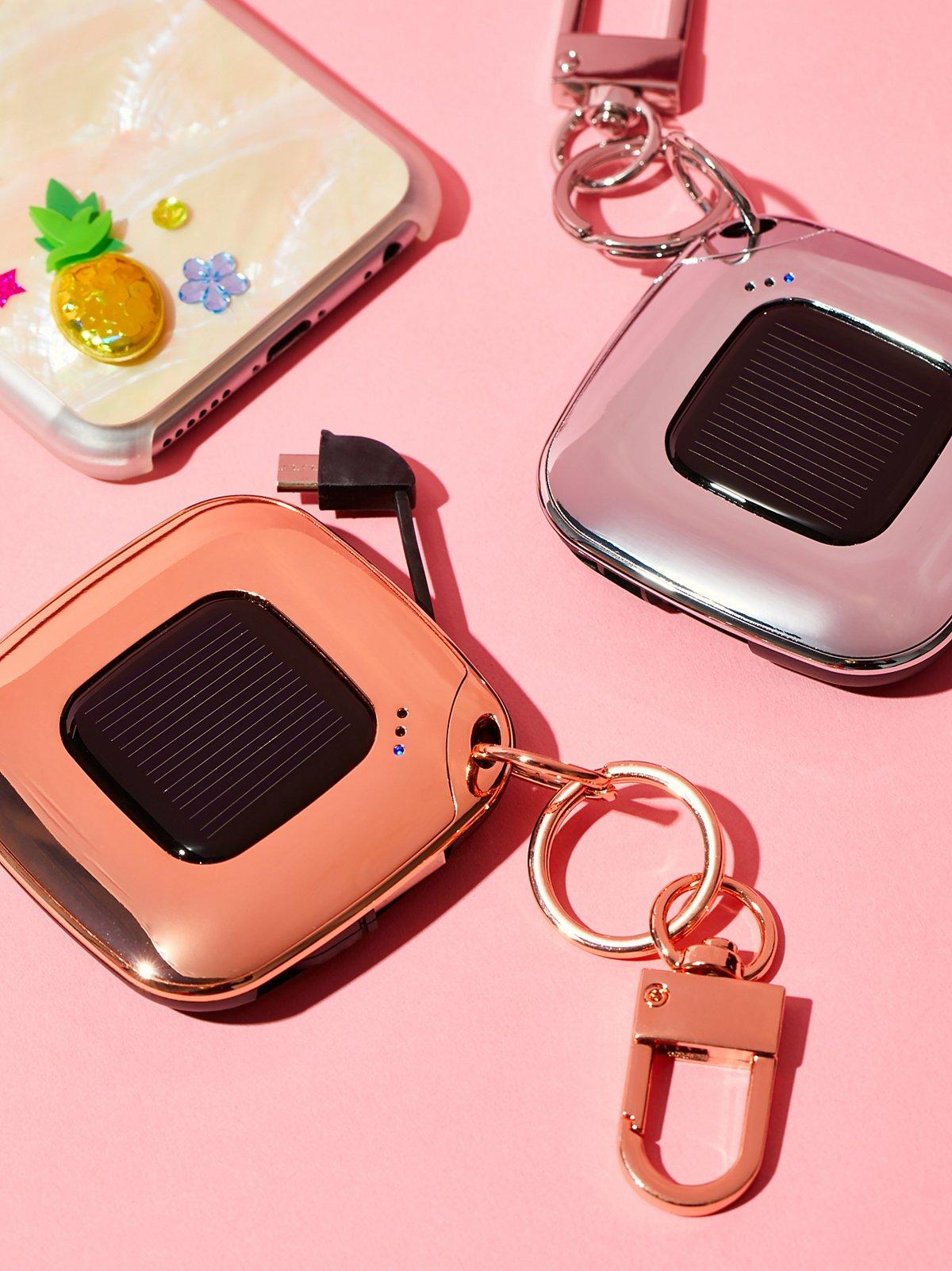 V4 Solar Charger Keychain