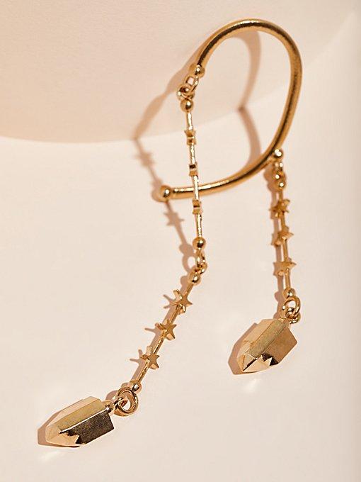 Product Image: 3D打印垂挂水晶耳夹
