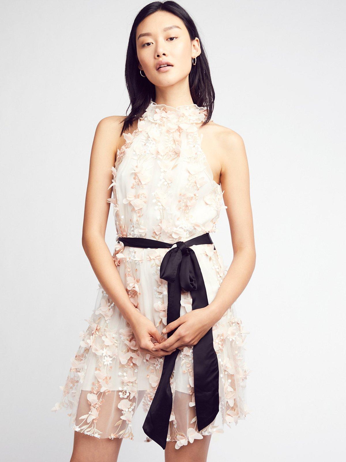 Ruffle Up Mini Dress