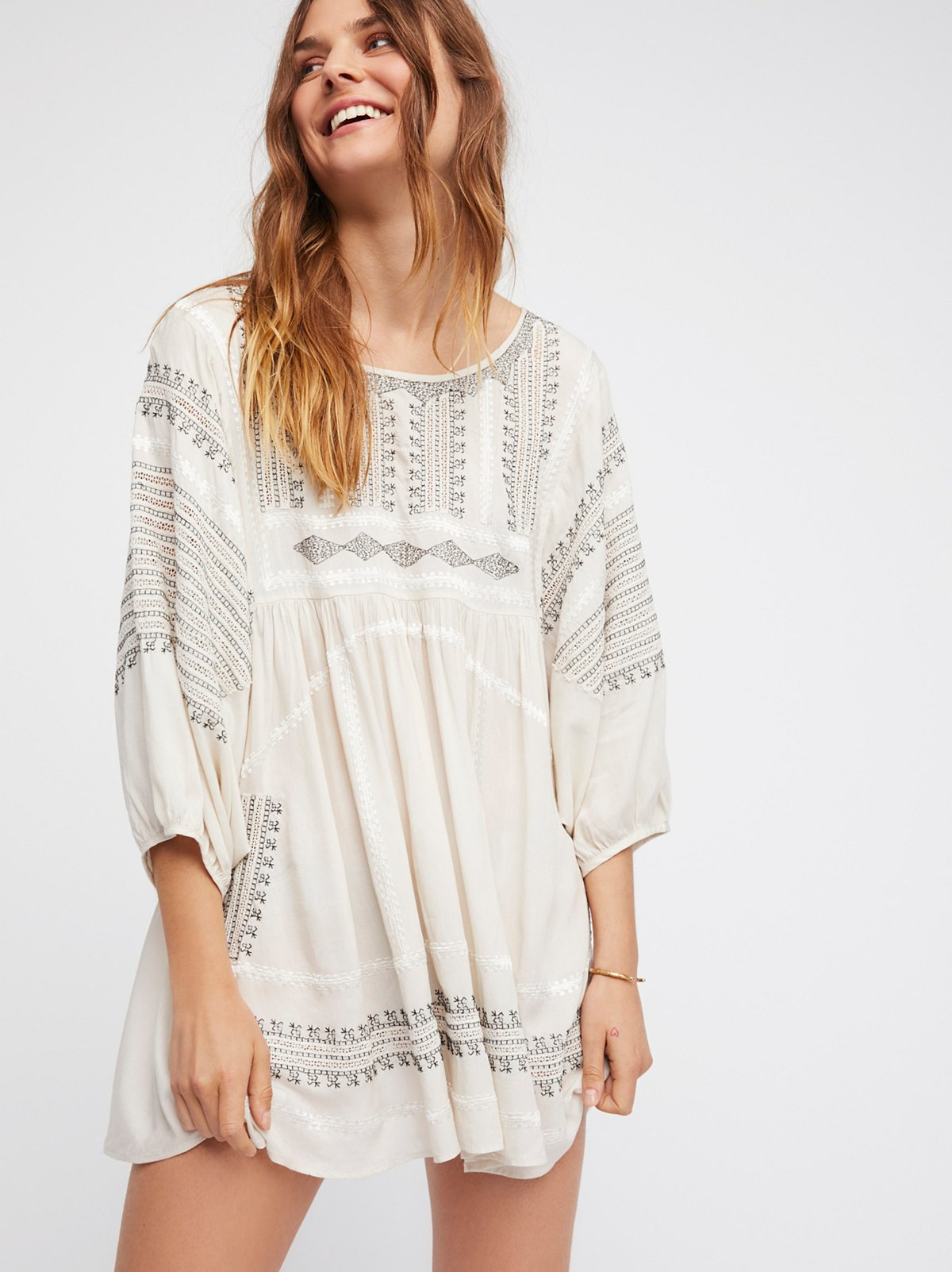 Wild One Embroidered Top