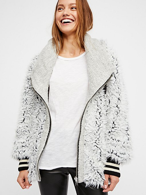 Product Image: Fluffy Dolman Jacket