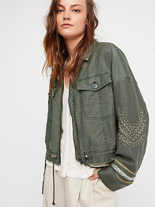 Product Image: Extreme Cropped Military Jacket