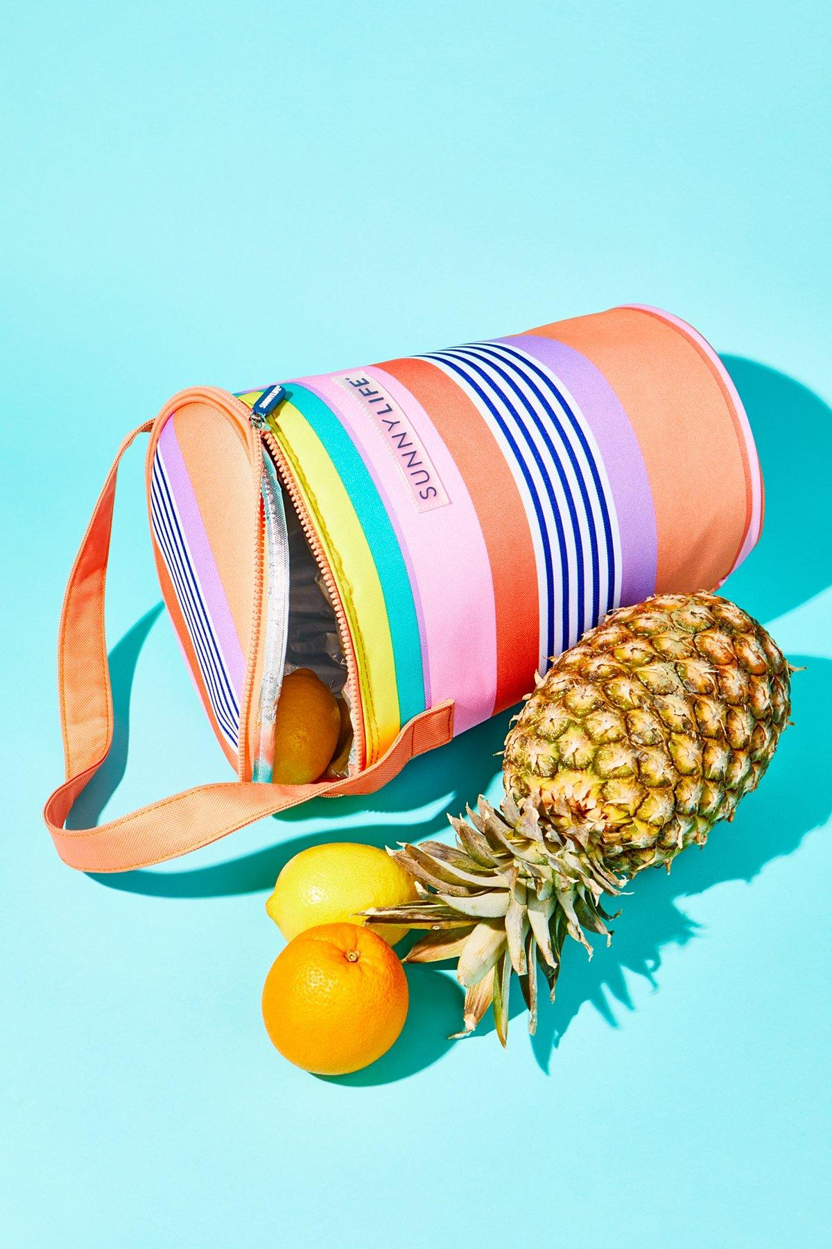 Stripe Tote Cooler